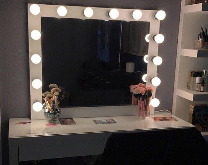Low Shipping Financing Hollywood Vanity Mirror Etsy Ikea Vanity Mirror With Lights Hollywood Vanity Mirror