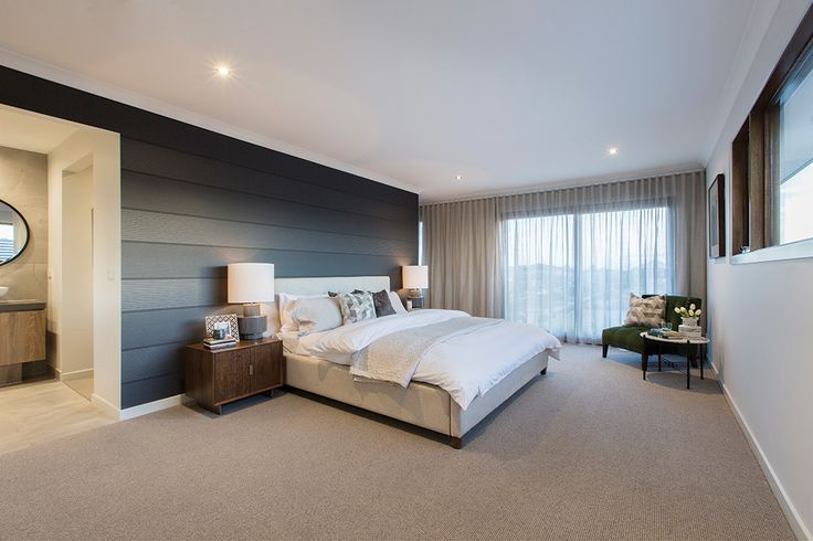 Master Bedroom in the Hoffman display with an Amsterdam World of Style.