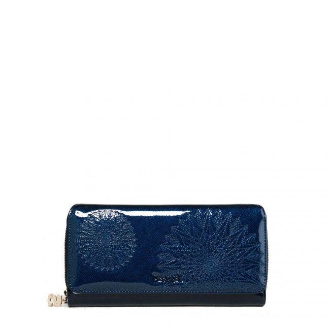 Portafoglio Desigual grande con patta Katia 67Y53G1 - Scalia Group #desigual #borse #donna #handbags #color #winder #fallwinter #women #wallets #portafogli #money