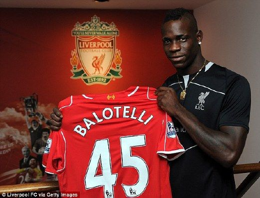HAPPENING NOW:Liverpool fans are all thrilled to see the newly signed Mario Balotelli first line-up appearance versus Tottenham,Who will win today's PL match?