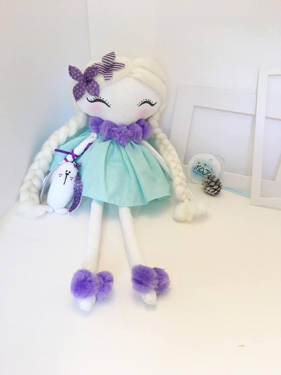 Heirloom doll / fabric doll / handmade doll / gift / Christmas