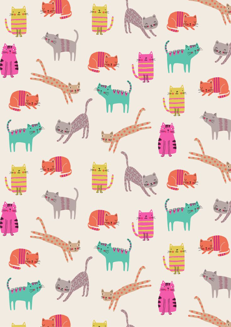 Cats by Dawn Bishop. Novelties is a collection of fun, one,off prints