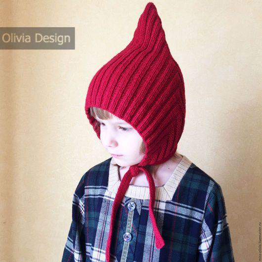 Шапки и шарфы ручной работы. Шапочка Эльф. Olivia Knit Design. Ярмарка Мастеров. Эльфийская шапка, весенняя шапка, вязание