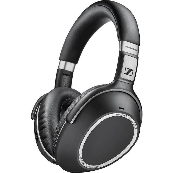 Sennheiser - PXC 550 Wireless Over-the-Ear Noise Canceling Headphones - Black