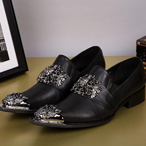 Мужская обувь из натуральной кожи мода мужчины бизнес обувь - туфли-оксфорд обувь для мужчин классическая обувь Zapatos хомбре sapatos masculino