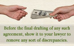 Drafting a personal loan agreement
