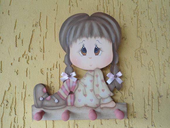 essa boneca é um charme para decorar a sua casa ou presentear.