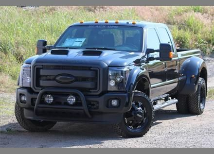 2014 Ford F-450 Black ops edition