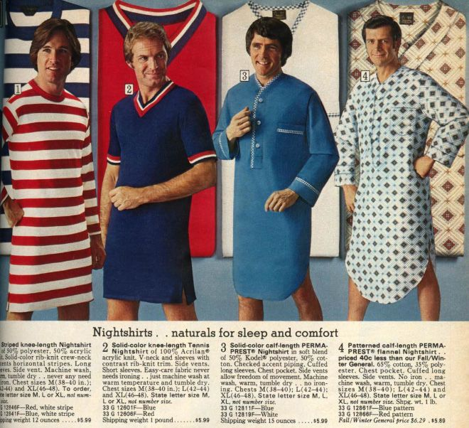 Men's Fashion Ads From The 70s