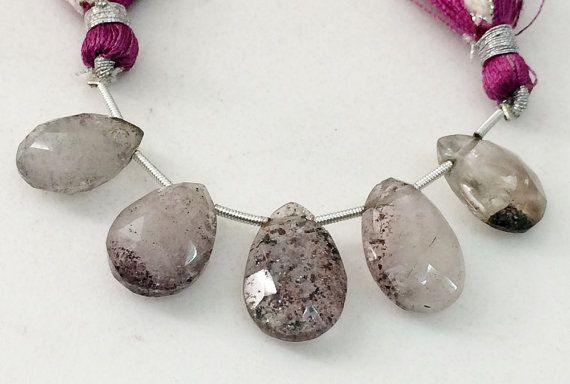 Rutilated Amethyst Beads Amethyst Rutile Faceted by gemsforjewels