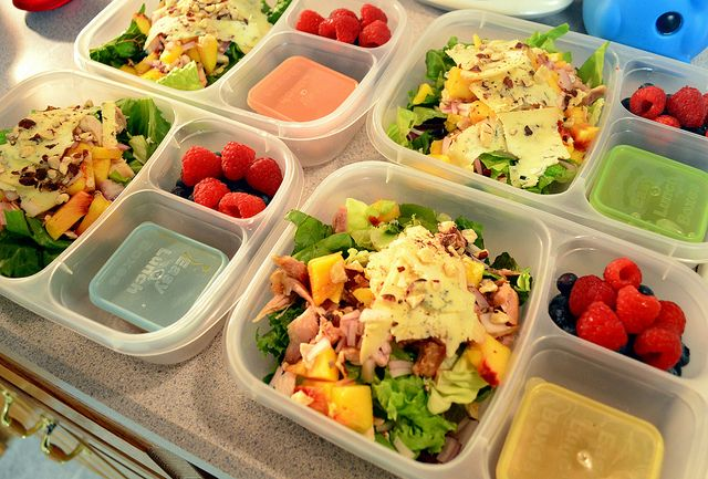 4 Workday Meals | Packed in #easylunchboxes.