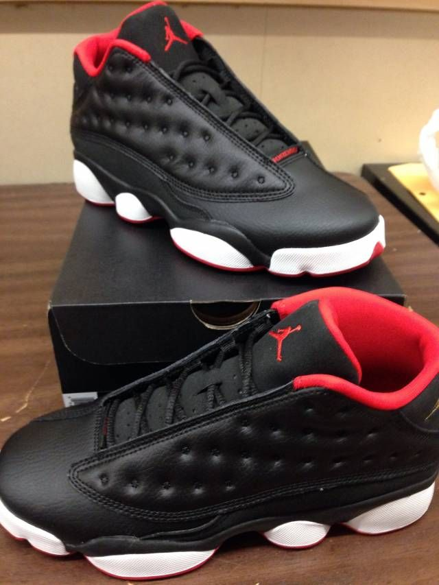 Come list sneakers for FREE! DS Size 11 Air Jordan Retro 13 low (Bred) #sneakerfiend #flykicks #snkrhds #instakicks #sneakerheads #shoegame #airjordan - http://sneakswap.com/buy-retro-sneakers/ds-size-11-air-jordan-retro-13-low-bred/