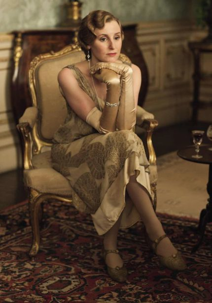 Downton Abbey Season 4  Edith  39 s costumes this year look amazing