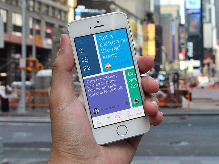 Acorn App Screenshot.  by Frank Scott Krueger