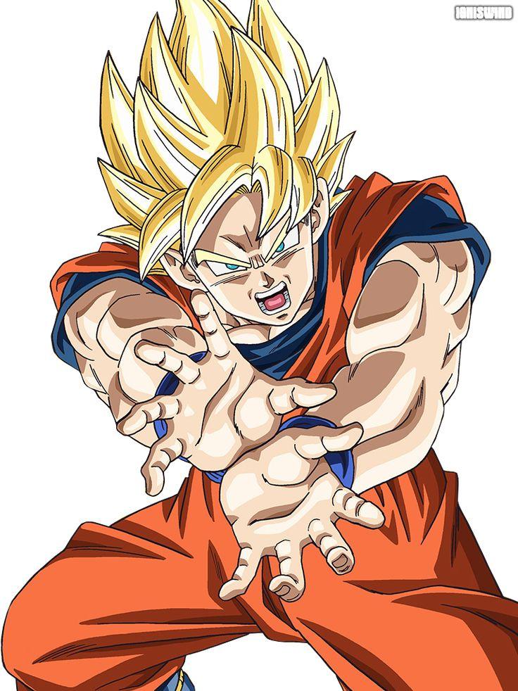 goku super saiyan 4 | Goku Super Saiyan Kamehameha - Render by IgnisWind