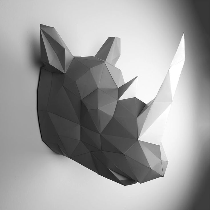 Inspired by classic animal trophies but informed by postmodern art and origami, Berlin-based designer Dr. Holger Hoffmann created these eco-friendly PaperTrophies perfect for your home or office using complex polygon structures to create minimalistic, cubic renditions of animal busts and bodies.