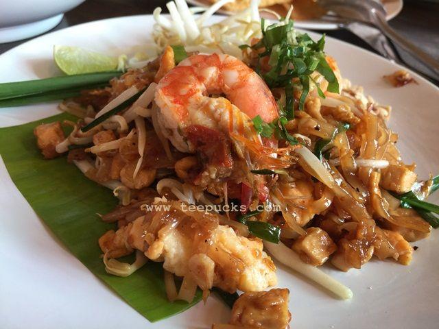 Phad Thai at Phitsanulok, Thailand