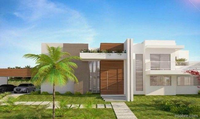 Fachadas de Casas Modernas - Fotos