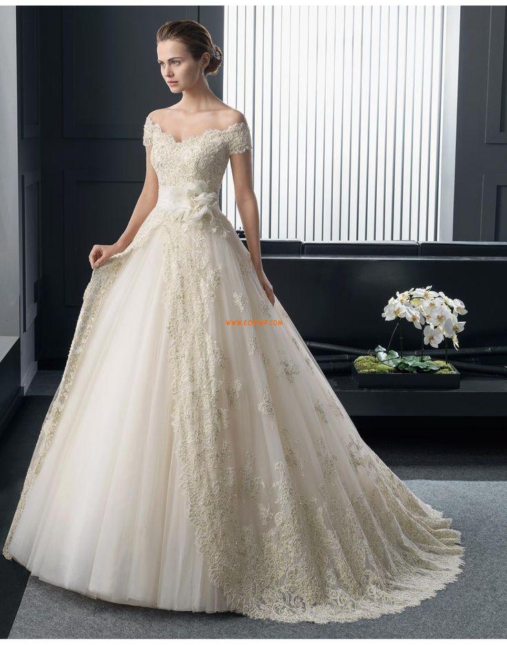 Spetslook Spets Naturlig Bröllopsklänningar 2015