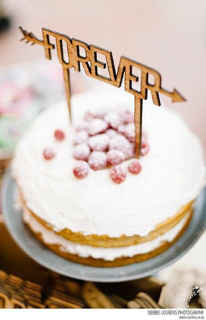 Forever cake topper at Kamers vol Geskenke Cape Town 2014 on Lovilee blog, Debbie Lourens Photography