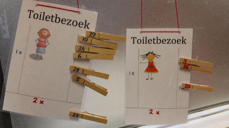 Gezien: maximaal twee keer per dag naar het toilet. #klassenmanagement @eimink
