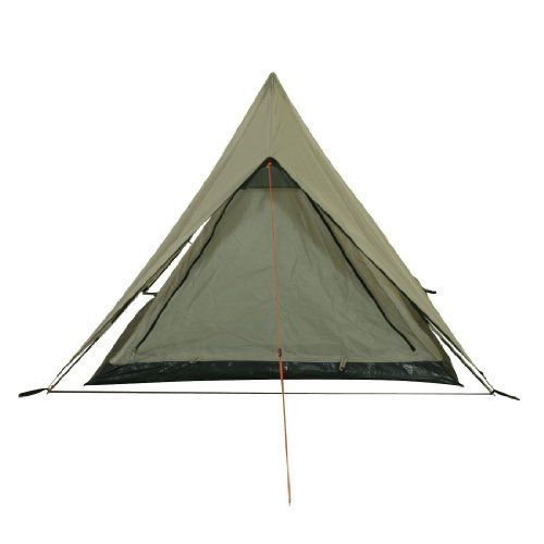 10T Outdoor Equipment Zelt Poneto 2 - Carpa para acampada, color gris, talla 2 personas