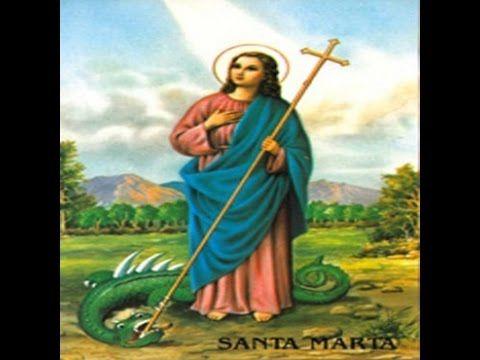 Oracion a Santa marta dominadora  para dominar al ser amado
