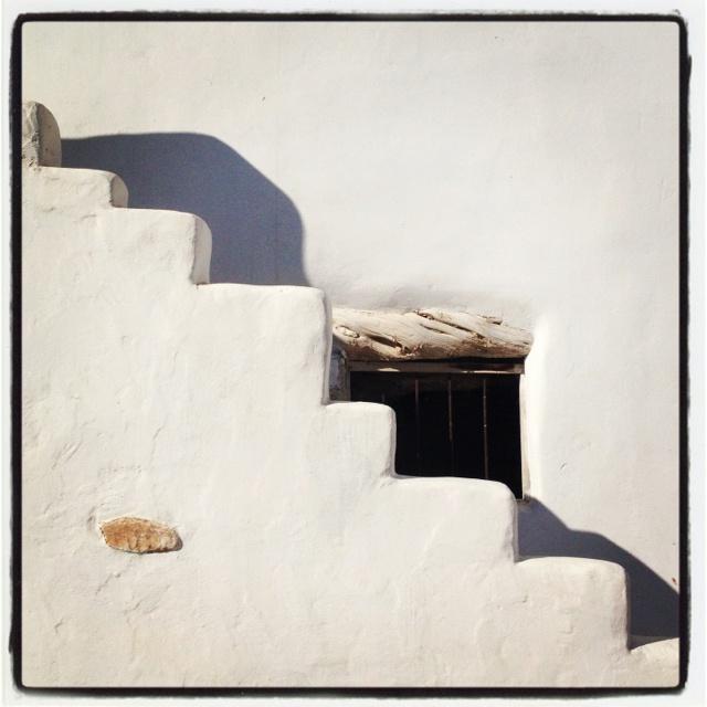 Stairs to ...home! Antiparos island, Greece!