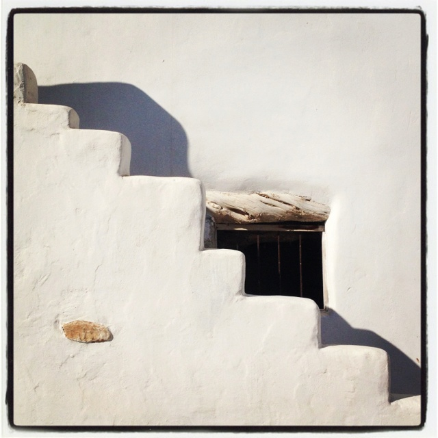 Stairs to ...home! Antiparos island, Greece!