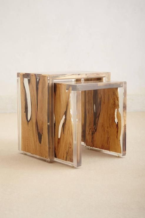 17 best ideas about resin table on pinterest resin and - Table gigogne plexi ...