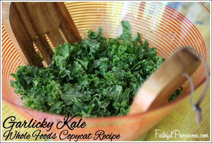 Garlicky Kale Recipe Whole Foods