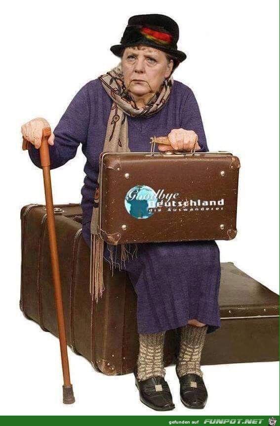 lustiges Bild 'Goodbye Deutschland.jpg'- Eine von 23767 Dateien in der Kategorie 'witzige Bilder' auf FUNPOT.