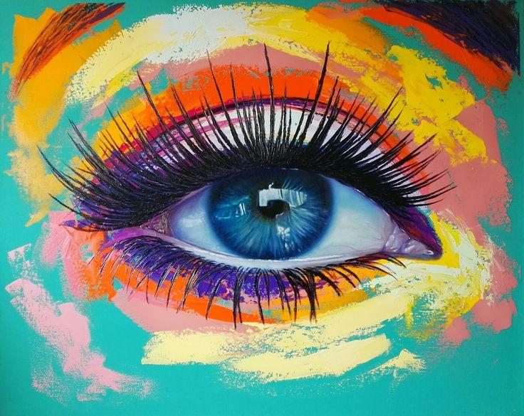 Loeo sobre lienzo 100 x 80 cm by Patricia Vesga PAVES