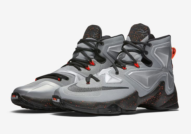 Top Quality Nike Lebron XI Low Cheap sale Lava Magnet Grey Brigh