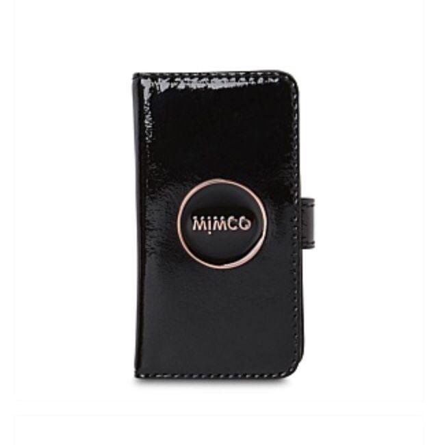 Mimco Flip Case for IPhone 5 in Black