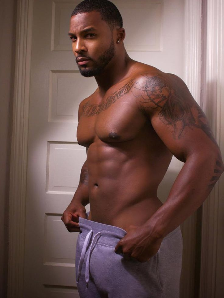 Sexiest black men naked