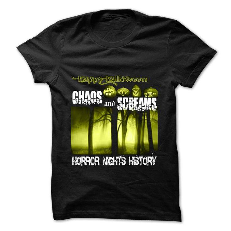 Halloween horror nights history T-Shirts, Hoodies, Sweaters