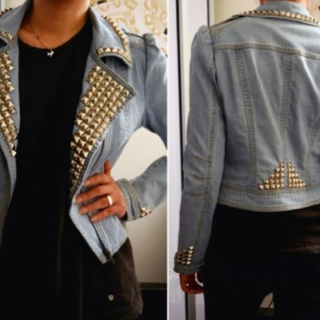 DIY jacket i think i will do this to one of my jean jackets