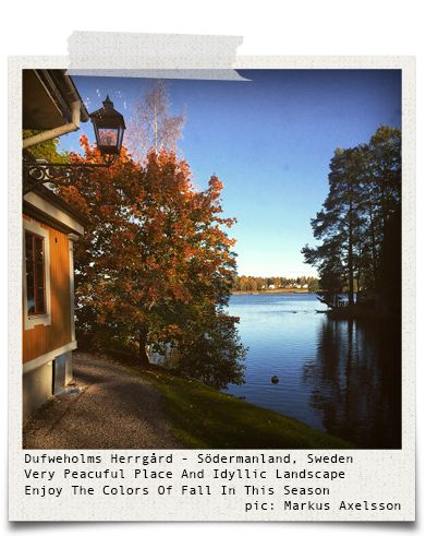 Dufweholms Herrgård - Södermanland, Sweden (pic: Markus Axelsson via www.hiddentreasures.ch)