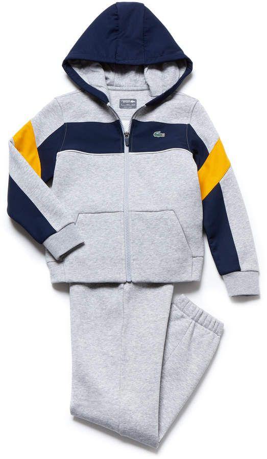 PUMA Baby Boys Fleece Zip Up Hoodie Set