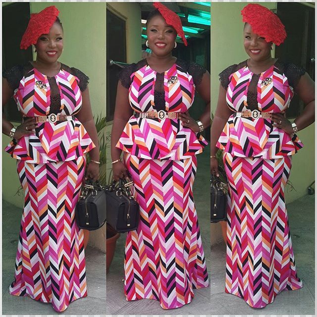 Check Out This Creative Skirt And Blouse Style Dezango Fashion Zone Ankara Styles