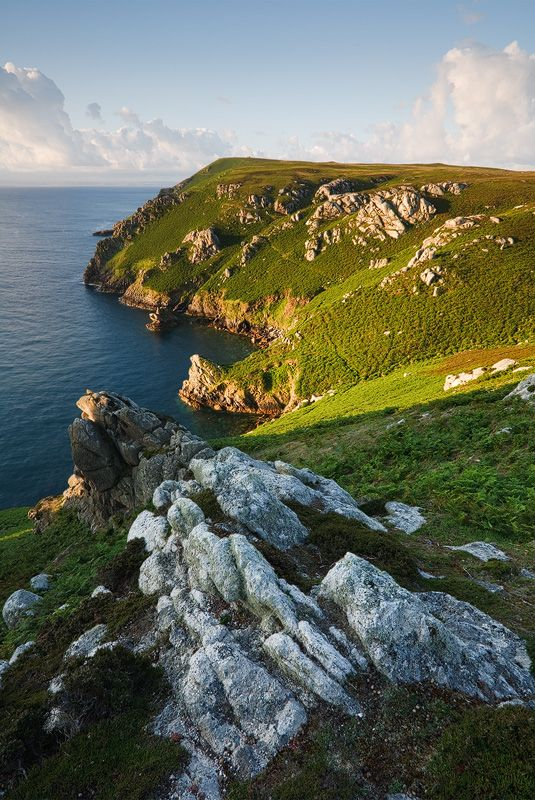 ✯ Gannet's Bay - Lundy Island, UK. No cars, other than for authorities. No TV, no Internet. Life is like the 1950's here, and that's how the locals like it.