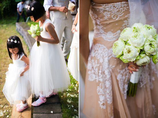 Closed Lotus Wedding Bouquet