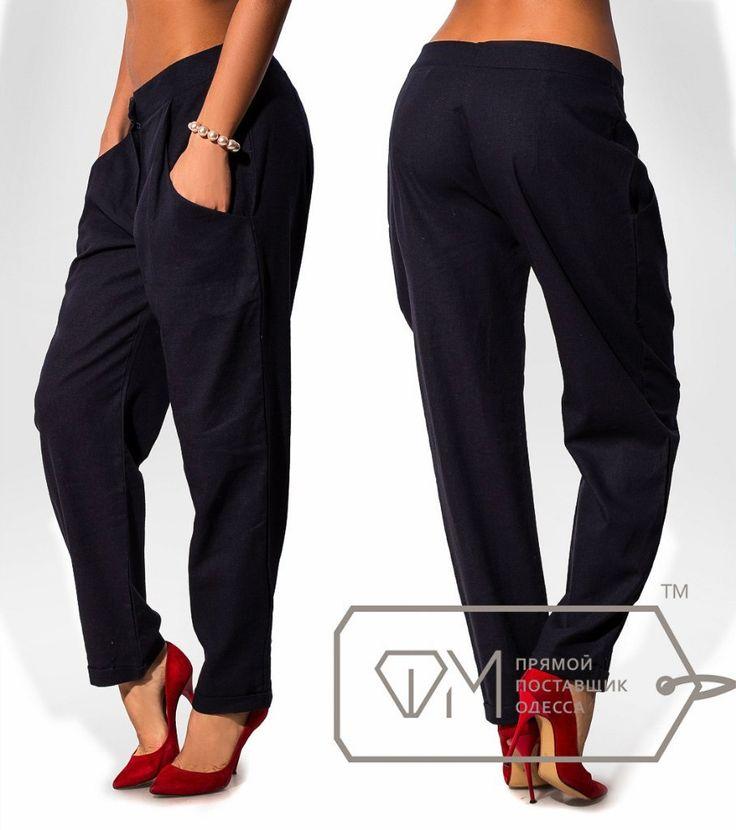 Черные женские брюки ФМ 6851