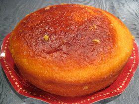Torta semplice senza lievito con glassa di zucchero e limone