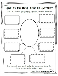 Worksheet Character Analysis Worksheet 1000 images about reading character traits on pinterest worksheet