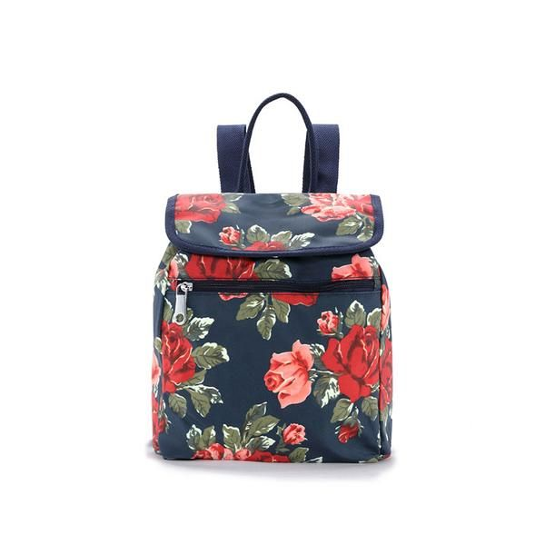 Rose Backpack- fashion backpack, hip flowers, other colors available on the website