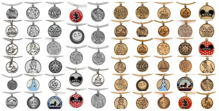 Disney Parks Exclusive Alex & Ani Gold & Silver Bangle Bracelets ALL OPTIONS Jewelry & Watches, Fashion Jewelry, Charms & Charm Bracelets