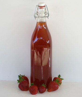 Good Cocktails - Homemade Strawberry Liqueur Recipe.  Comes with a list of mixed drinks that can be made from it.  I'll include that info on pretty cards with my liqueur gifts.