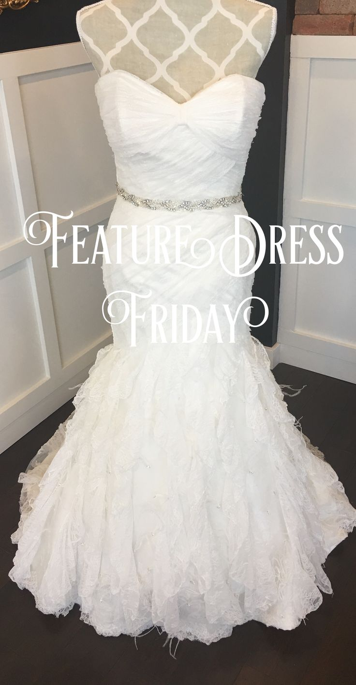 Impression Bridal ,white/champagne with feathers size 10 $800-